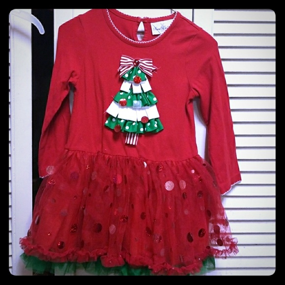 rare editions christmas dress
